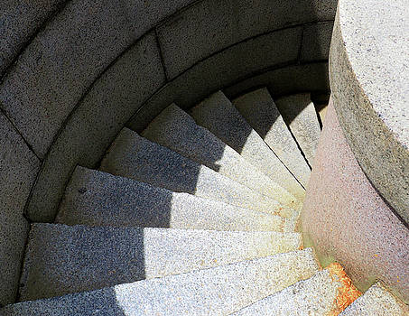 Stone Staircase by Kevin Felts