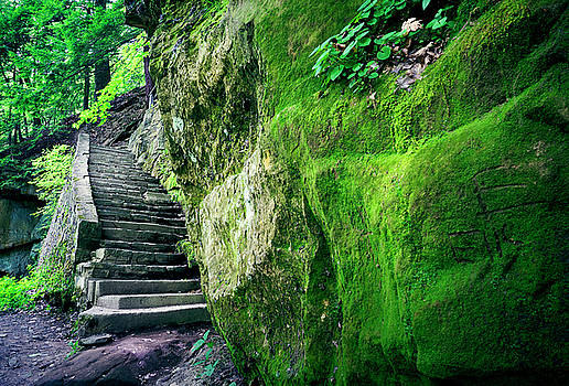 Stone Stairs by Laurence Nozik