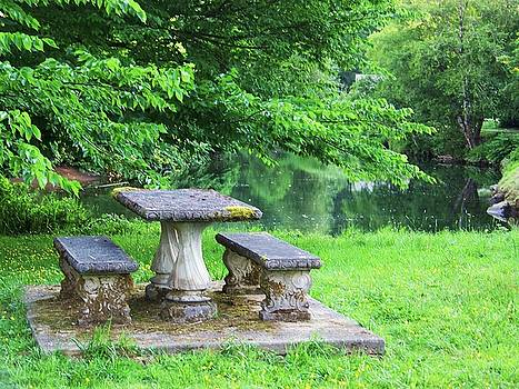 Stone Table by Julie Rauscher