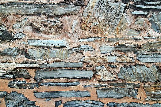 Stone Wall 2 by John Cardamone