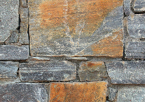 Stone Wall 3 by John Cardamone