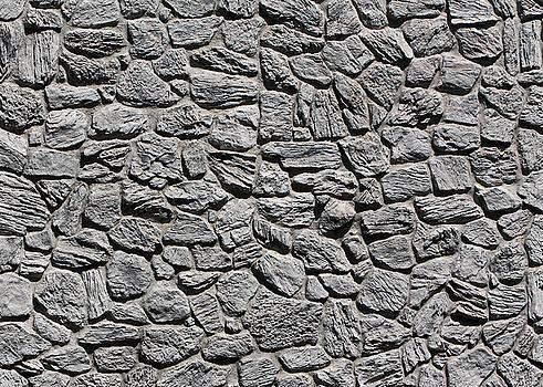 Stone Wall 4 by John Cardamone