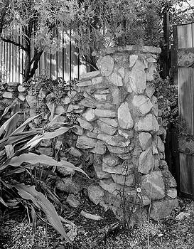 Stone wall by John Simmons