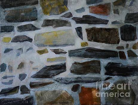 Stone Wall by Jukka Nopsanen
