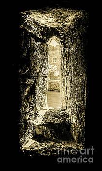 Lexa Harpell - Stone Window - Bishops Palace Wells England