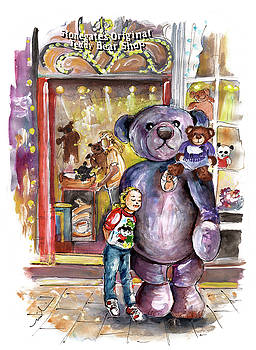Stonegates Teddy bear Shop In York by Miki De Goodaboom
