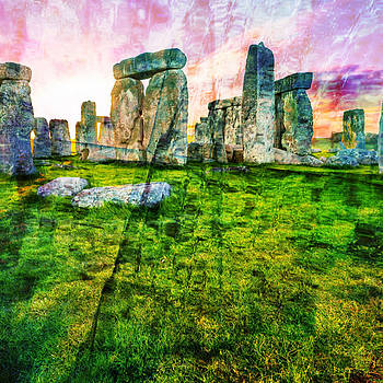 Stonehenge at Easter Time by Marcus Bowman