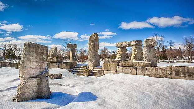Stonehenge Buffalo 4611 by Guy Whiteley
