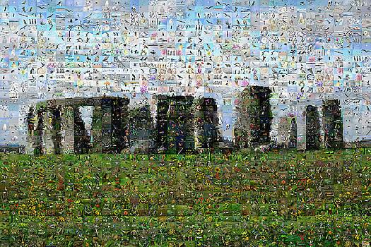 Stonehenge by Gilberto Viciedo