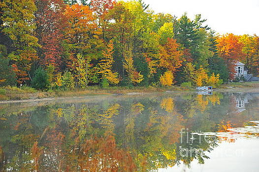 Terri Gostola - Stoneledge Lake Autumn Waterfront