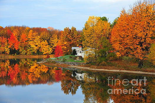 Terri Gostola - Stoneledge Lake Mirror Reflection