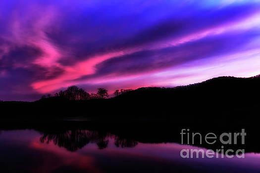 Stonewall Jackson Lake Dawn by Thomas R Fletcher