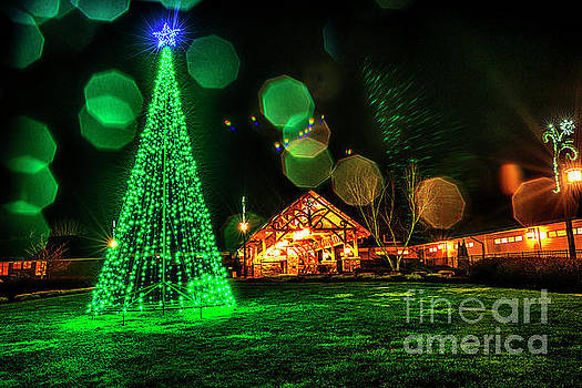 Stonewall Resort at Christmas by Thomas R Fletcher