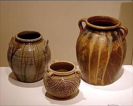 Stephen Hawks - Stoneware Jars