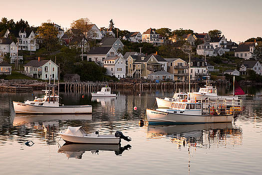Stonington Harbor by Patrick Downey