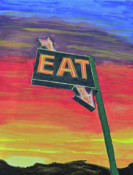 Stop Here and Eat by Lisa Von Biela