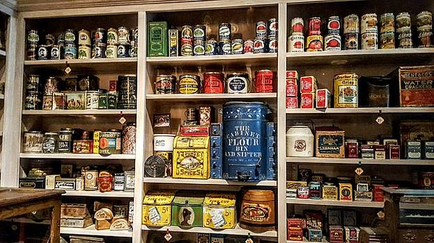 Store from the Past by Horst Duesterwald