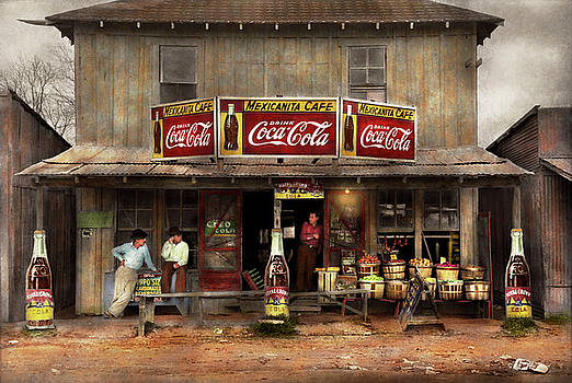 Mike Savad - Store - Grocery - Mexicanita Cafe 1939