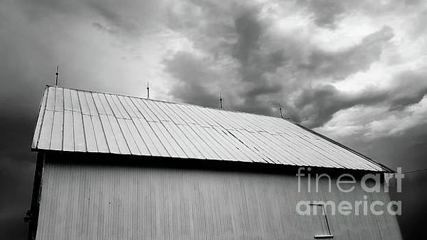 Storm and Barn by Justin Bower