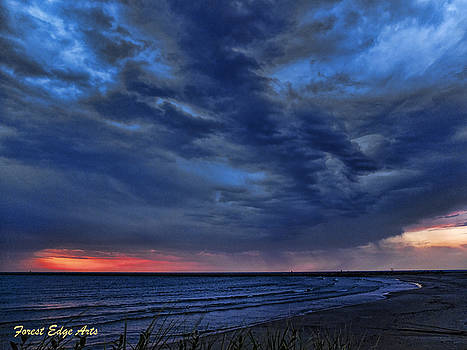 Storm Approaching by Dick Bourgault