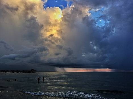 Storm Approaching  by Rick Macomber