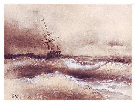 Storm by ArtAivazovsky Gallery