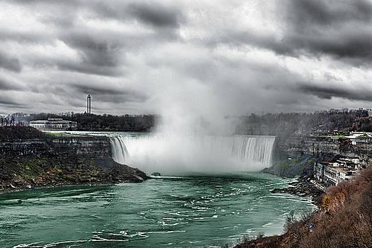 Storm at Niagara by JGracey Stinson