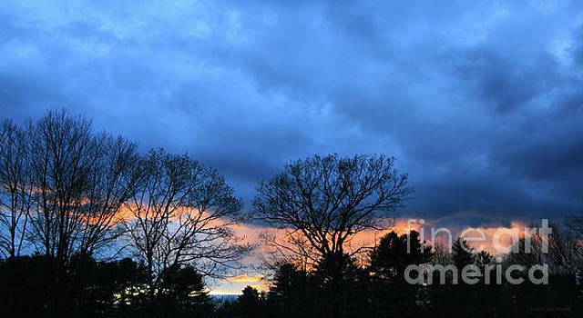 Sandra Huston - Storm Chasing the Sunset