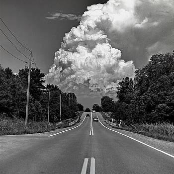 Storm Cloud at Concession 5 Pickering Ontario Canada by Gregory Varano