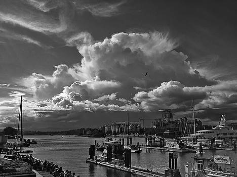 Storm Cloud Victoria BC by Gregory Varano
