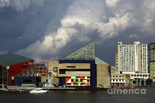 James Brunker - Storm Clouds Above the National Aquarium Baltimore