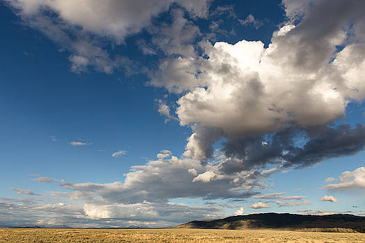 Storm Clouds and Shadows Gros Ventre Wilderness WY by Troy Montemayor