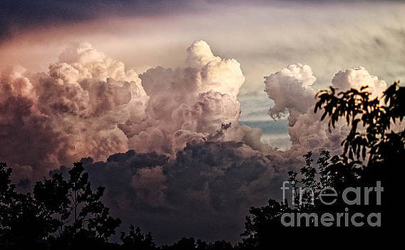 Paul Mashburn - Storm Clouds At Sunset