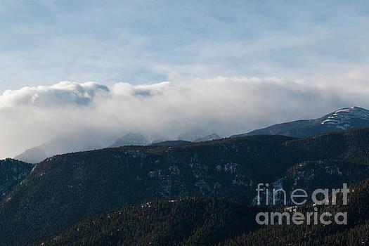 Steve Krull - Storm Clouds Gather on Pikes Peak