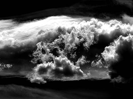 Storm clouds. by Louis De la Torre