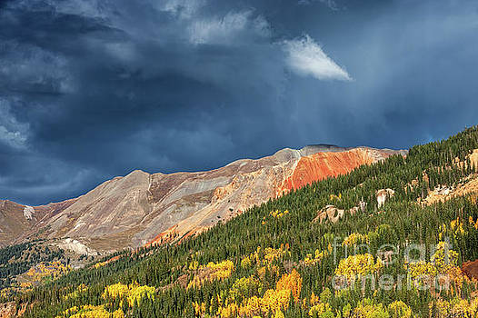 Storm Clouds Near Red Mountain, Colorado by Tibor Vari