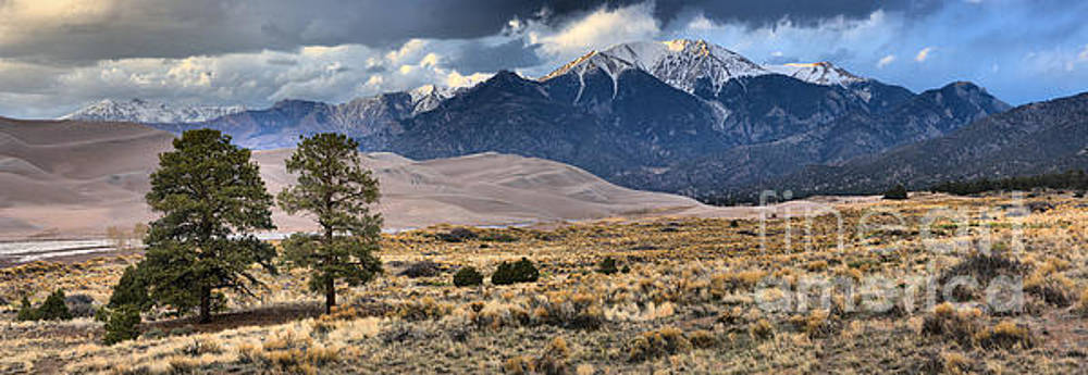 Adam Jewell - Storm Clouds Over Great Sand Dunes