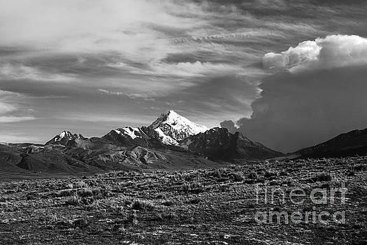 James Brunker - Storm clouds over Mt Huayna Potosi