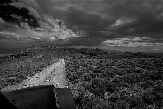 Rick Strobaugh - Storm Clouds over the 4x4 Trail