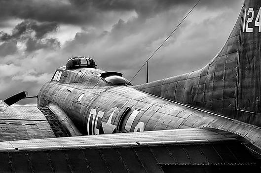 Storm Couds over Memphis Belle - 2017 Christopher Buff, www.Avia by Chris Buff