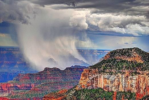Storm Grand Canyon by John Johnson