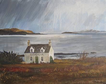 Storm in Broadford Bay by Cindie Reiter