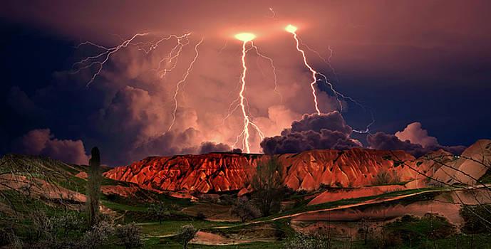 Storm in Cappadocia, Turkey by Yuri Hope