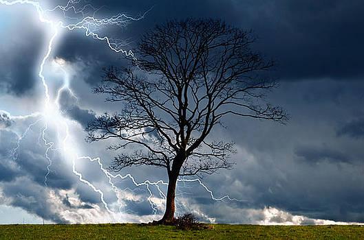 Storm in Field by Luke Lonergan
