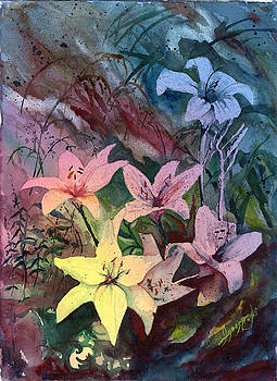 Storm Lillies by David Ignaszewski
