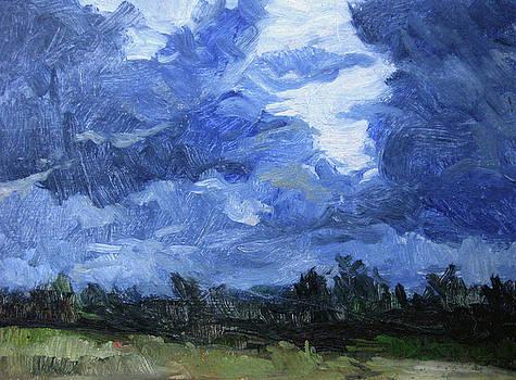 Storm oil study by Zois Shuttie