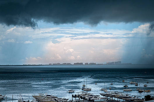 Storm on the Bay 2 by Frank Mari