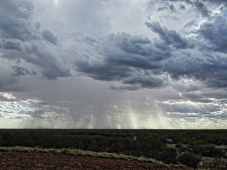 Storm on the Outback by Helaine Cummins