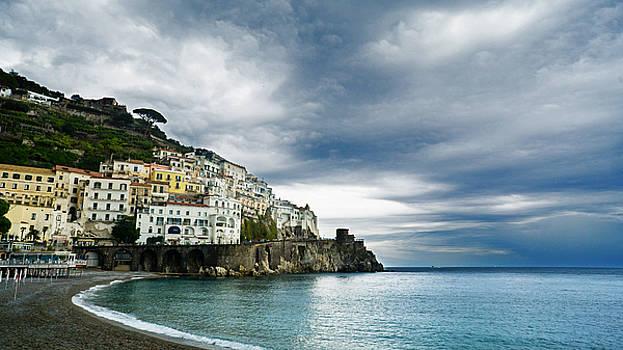Storm Over Amalfi by Jaana Baker
