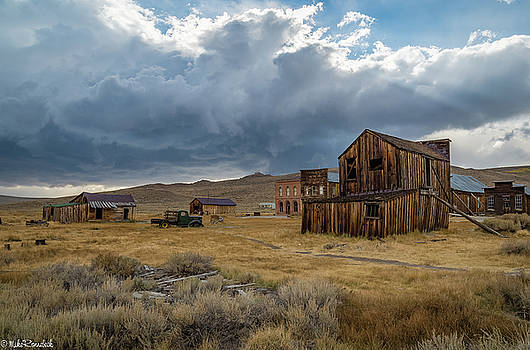 Storm over Bodie by Mike Ronnebeck